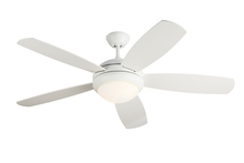"Monte Carlo 5DI52ESRZWD - 52"" Discus Fan - Rubberized White"