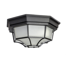 Maxim 57920BK - Flush Mount LED 1-Light Outdoor Ceiling Mount