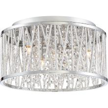 Quoizel PCCC1614C - Platinum Collection Crystal Cove Flush Mount