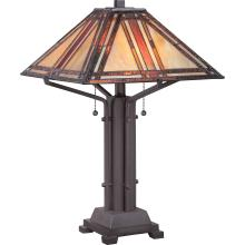 Quoizel TF1672TWT - Tiffany Table Lamp