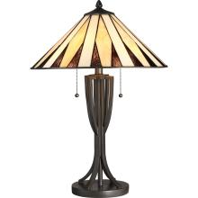 Quoizel TF2804TWT - Tiffany Table Lamp