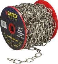 Satco Products Inc. 79/210 - 8 Gauge Chain - 100 ft. to Reel / 1 Reel to Master 35lbs MAX