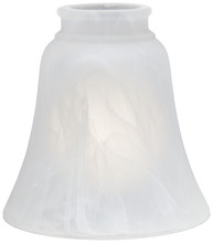 "Minka-Aire 2652 - 2 1/4"" Etched Marble Glass Shade"