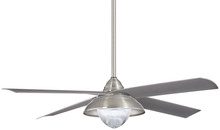 "Minka-Aire F683L-BNW - Shade 56"" - Brushed Nickel Wet"
