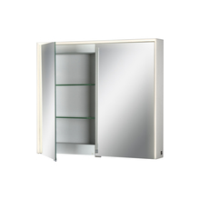 Eurofase Online 31485-012 - Edge-Lit LED Mirror Cabinet, Double Door, 28 Inches High by 32 Inches Wide - Model 31485-012