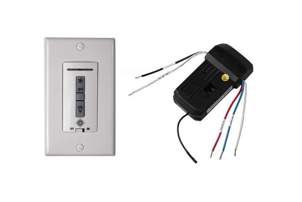 hard wired wall remote control/receiver