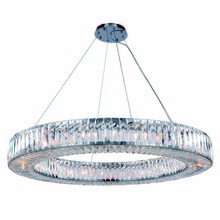 Elegant 2116G43C/RC - 2116 Cuvette Collection Chandelier D:43in H:5.11in Lt:24 Chrome Finish (Royal Cut Crystals)