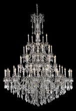 Elegant 9255G64PW/SA - 9255 Rosalia Collection Chandelier D:64in H:84in Lt:55 Pewter Finish (Spectra� Swarovski� Crystals)