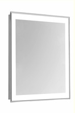 "Elegant MRE-6102 - 4 Sides LED Edge Electric Mirror Rectangle W20""H40"" Dimmable 5000K"