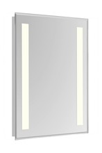 "Elegant MRE-6312 - 2 Sides LED  Electric Mirror Rectangle W20""H40"" Dimmable 3000K"