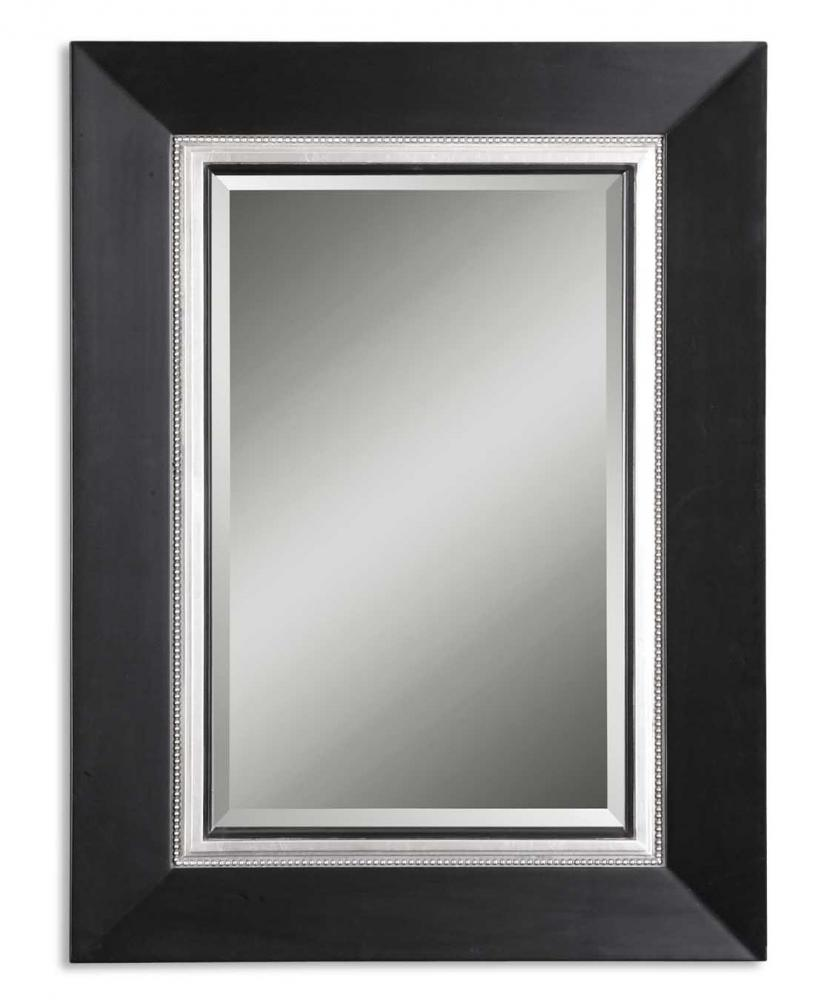 Uttermost Whitmore Black Wood Mirror