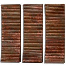 Uttermost 07064 - Uttermost Adara Copper Wall Art S/3