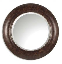 Uttermost 07515 B - Uttermost Leonzio Leather Mirror
