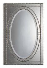 Uttermost 08055 B - Uttermost Earnestine Antique Silver Mirror