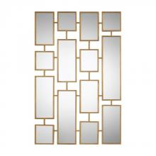 Uttermost 09271 - Uttermost Kennon Forged Gold Rectangles Mirror