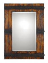 Uttermost 13804 - Uttermost Stockley Rustic Mahogany Mirror