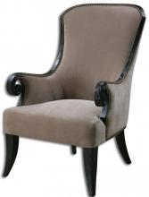 Uttermost 23113 - Uttermost Kandy Taupe Armchair