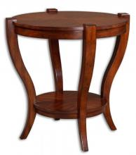 Uttermost 24142 - Uttermost Bergman Round End Table
