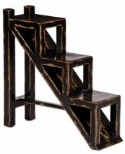 Uttermost 25523 - Uttermost Asher Black Stepped Accent Table