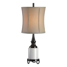 Uttermost 29528-1 - Uttermost Molveno Ivory Marble Table Lamp