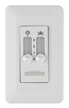 Fanimation CW2WH - Wall Control Non-Reversing - Fan Speed and Light - WH