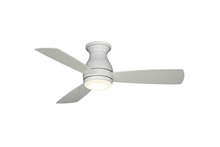 Fanimation FPS8332MWW-220 - Hugh - 44 inch - MWW with MW Blades and LED - 220V