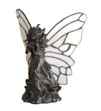 "Meyda Tiffany 50428 - 8""H Pearl Winged Fairy Accent Lamp"